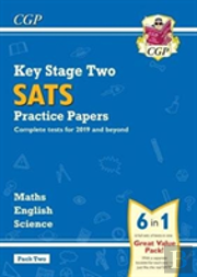 New Ks2 Complete Sats Practice Papers Pack: Science, Maths & English (For The 2019 Tests) - Pack 2