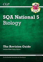 New National 5 Biology: Sqa Revision Guide With Online Edition