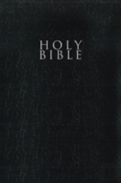 Niv, Gift And Award Bible, Leather-Look, Black, Red Letter Edition, Comfort Print