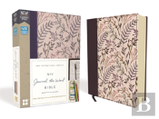 Niv, Journal The Word Bible, Cloth Over Board, Pink Floral, Red Letter Edition, Comfort Print