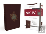 Nkjv, Thinline Bible, Standard Print, Imitation Leather, Burgundy, Red Letter Edition