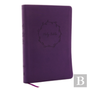 Nkjv, Value Thinline Bible, Large Print, Imitation Leather, Purple, Red Letter Edition