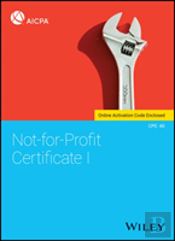Not-For-Profit Certificate I