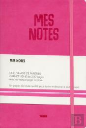 Notes Cuir Fuschia