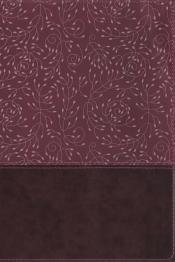 Nrsv, Thinline Reference Bible, Leathersoft, Burgundy, Indexed, Comfort Print