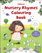 Nursery Rhymes Colouring Book/Stickers