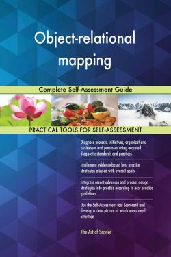 Bertrand.pt - Object-Relational Mapping Complete Self-Assessment Guide