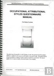 Occupational Attributional Style Questionaire Manual