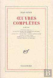 Oeuvres Complètes T.4