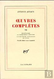 Oeuvres Complètes T.7