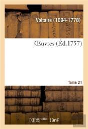 Oeuvres. Tome 21