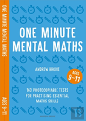 One Minute Mental Maths For Ages 9