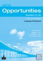 Opportunitiesglobal Pre-Intermediate Language Powerbook