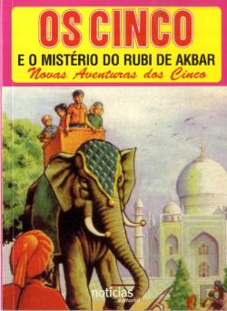 Bertrand.pt - Os Cinco e o Mistério do Rubi de Akbar