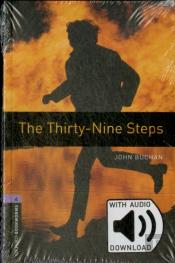 Oxford Bookworms Library: Level 4:: The Thirty-Nine Steps Audio Pack