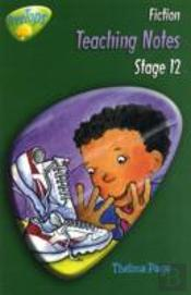Oxford Reading Tree: Stage 12: Treetops Stories: Teaching Notes