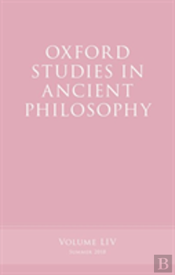 Bertrand.pt - Oxford Studies In Ancient Philosophy, Volume 54