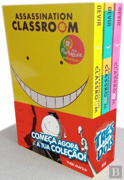 Bertrand.pt - Pack Assassination Classroom N.º 1, 2 e 3