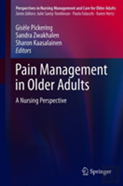 Pain Management In Older Adults