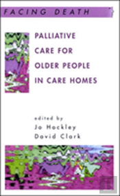 Palliative Care For Older People In Care Homes