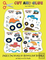 Paper Crafts For Kids (Cut And Glue - Monster Trucks)