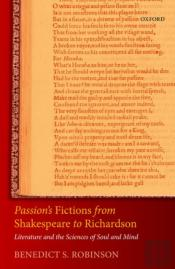 Passion'S Fictions From Shakespeare To Richardson
