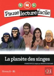 Pause Lecture Facile La Planete Des Singes + Cd Audio