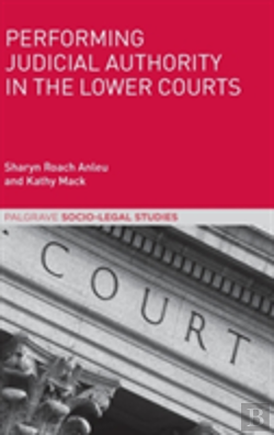 Bertrand.pt - Performing Judicial Authority In The Lower Courts