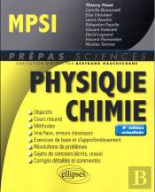 Physique Chimie Mpsi 4eme Edition Actualisee