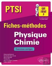 Physique Chimie Ptsi Fiches Methodes Et Exercices Corriges