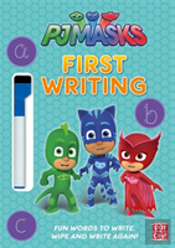 Pj Masks: First Writing Wipe Clean
