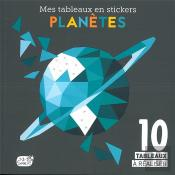 Planetes (Coll. Mes Tableaux En Stickers)