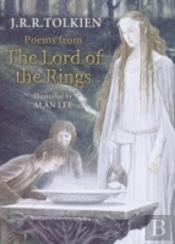 POEMS FROM THE 'LORD OF THE RINGS'