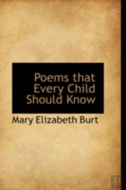 Bertrand.pt - Poems That Every Child Should Know