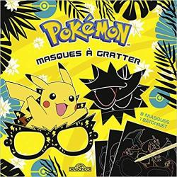 Bertrand.pt - Pokemon - Masques A Gratter
