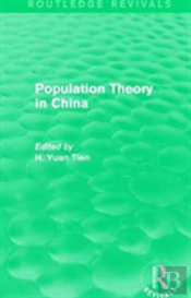Population Theory In China Rev Rp