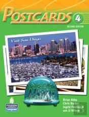Postcards 4 With Cd-Rom And Audio
