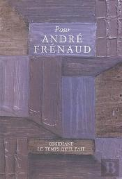 Pour Andre Frenaud