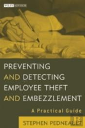 Preventing & Detecting Employee Theft &
