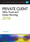 Bertrand.pt - Private Client: Wills, Trusts And Estate Planning 2018
