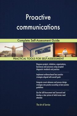 Bertrand.pt - Proactive Communications Complete Self-Assessment Guide