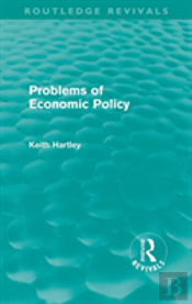 Problems Of Economic Policy