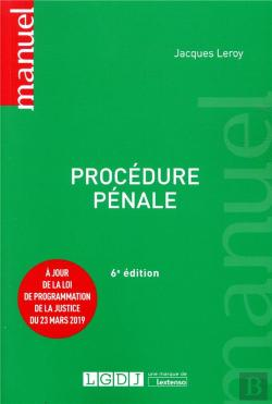 Bertrand.pt - Procedure Penale - 6eme Edition