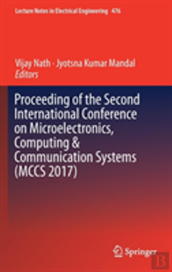 Bertrand.pt - Proceeding Of The Second International Conference On Microelectronics, Computing & Communication Systems (Mccs 2017)