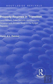 Property Regimes In Transition Lan