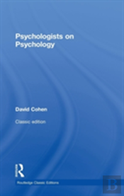 Psychologists On Psychology