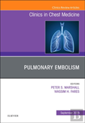 Pulmonary Embolism, An Issue Of Clinics In Chest Medicine