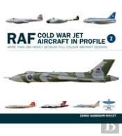 Raf Cold War Jet Aircraft In Profile