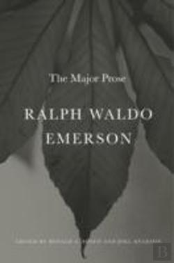 Bertrand.pt - Ralph Waldo Emerson 8211 The Major P
