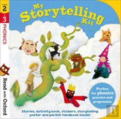 Bertrand.pt - Read With Oxford: Stages 2-3: Phonics: My Storytelling Kit